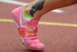 Usa today sports images track and field 117th penn relays for Track and field tattoos